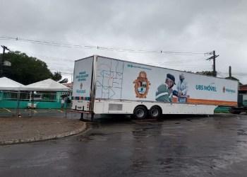 UBSs Móveis passam a atender casos de Covid-19 em novas localidades a partir desta segunda-feira, 22