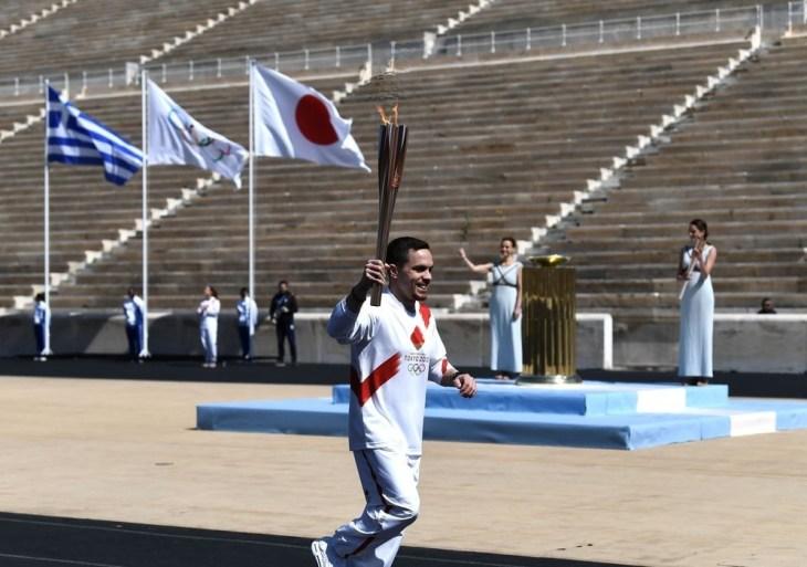 Revezamento da tocha olímpica pode ser suspenso se houver aglomerações