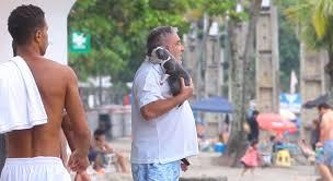 Desembargador que humilhou guarda após multa é flagrado em praia no litoral de SP sem máscara
