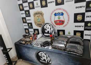 PC deflagra operação 'Naftalina' e desarticula célula de desmanche e clonagem de veículos em Manaus