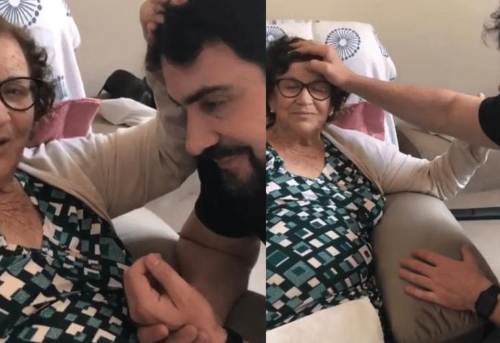 Mãe do padre Fábio de Melo morre por complicações da Covid