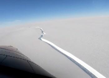 Iceberg do tamanho da cidade do Rio se separa da Antártida