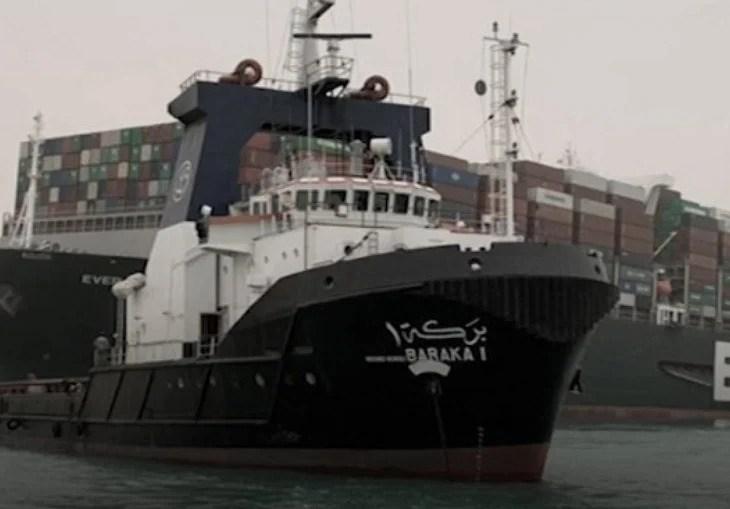 Meganavio encalhado em Suez já afeta mais de 230 embarcações