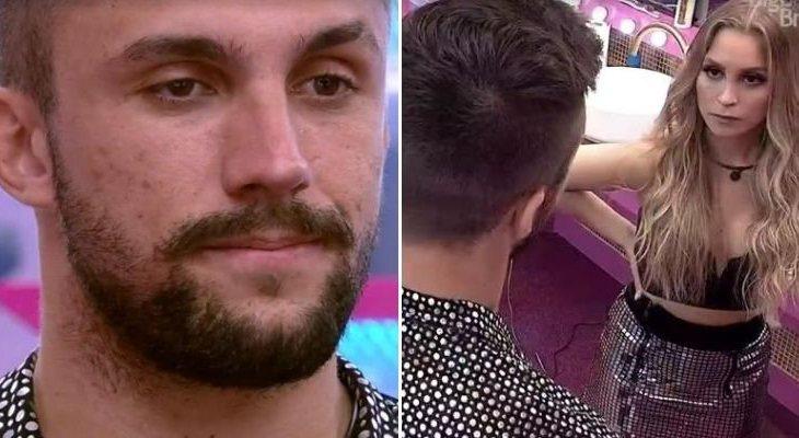 """""""BBB21"""": Fãs pedem a expulsão de Arthur após DR com Carla Diaz"""