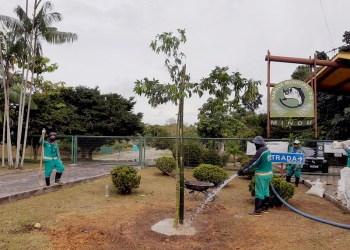 Parques e áreas de lazer da Prefeitura de Manaus seguem protocolos de segurança contra a Covid-19