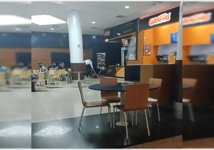 Shopping Sumaúma: CT Norte vai apurar o caso da mulher acompanhada de uma criança que foi arrastada na frente dos clientes