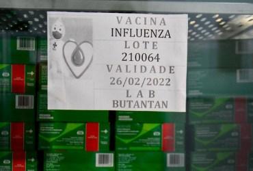 Campanha de Vacinação contra Influenza começa na segunda-feira, 12/4