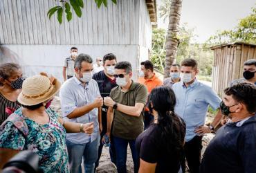 Peixoto retorna ao ramal da Cooperativa acompanhado do prefeito e do vice-prefeito de Manaus