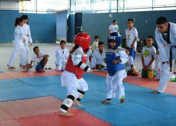 Em parceria com o Criança Esperança, OELA abre inscrições para aulas gratuitas de taekwondo, esporte coletivo, remo, muay thai e judô em Manaus