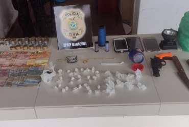 PC prende homem por tráfico de drogas no município de Manaquiri