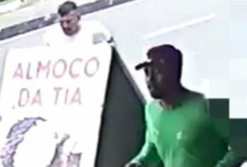 PC solicita colaboração na divulgação da imagem de dois indivíduos envolvidos em homicídio