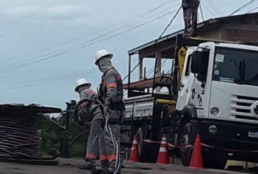 Obras de melhorias: Tarumã recebe nova rede de distribuição de energia