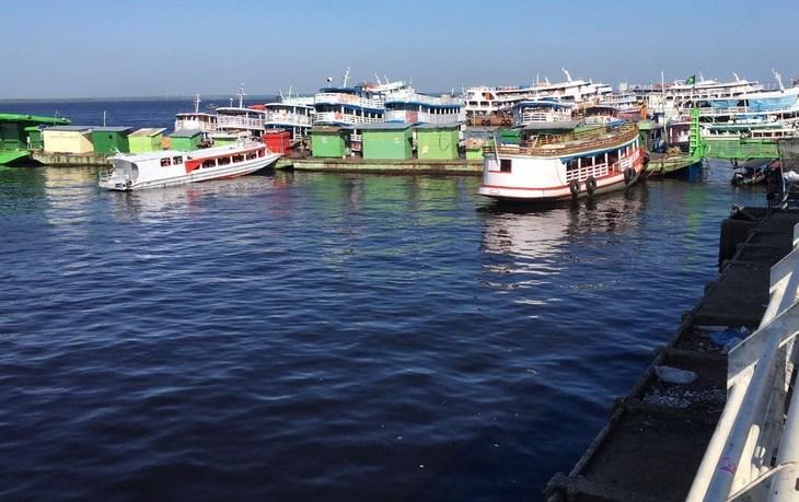 Rio Negro em Manaus atingiu cota de inundação severa