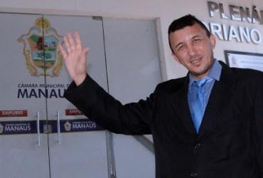 MANAUS, 16/11/16VEREADOR ELEITO SASSA DA CONSTRUCAO (PT)FOTO: ROBERVALDO ROCHA / CMM