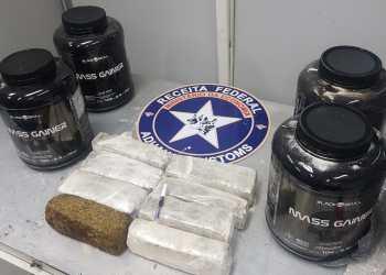 Receita Federal em Manaus apreende maconha e cocaína no Aeroporto