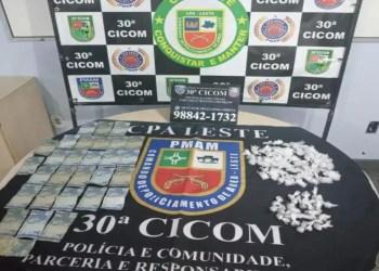 Homem é preso por tráfico de drogas em Manaus