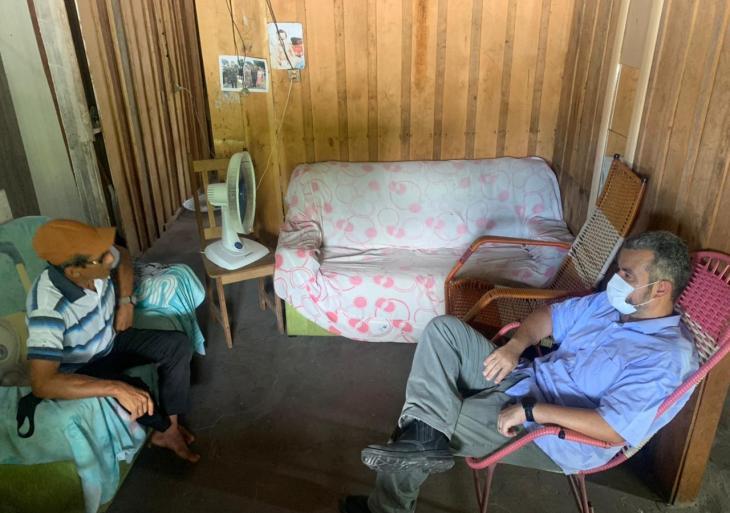Vereador Peixoto retornou à Comunidade Agrovila neste final de semana e recebeu demandas dos moradores