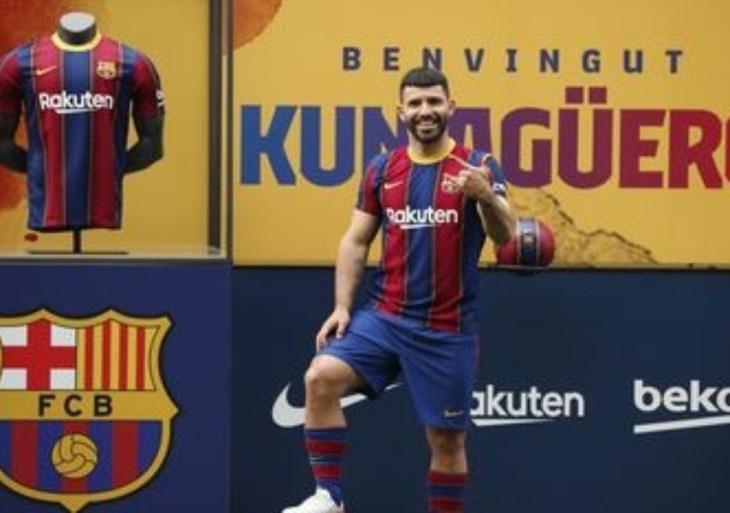 Barcelona confirma contratação de Agüero, do Manchester City