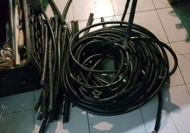 PC  registra aumento de 26% em prisões por furtos de cabos telefônicos, em Manaus