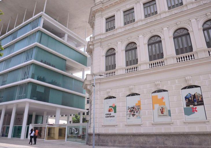 Museu de Arte do Rio (MAR) reabre ao público.