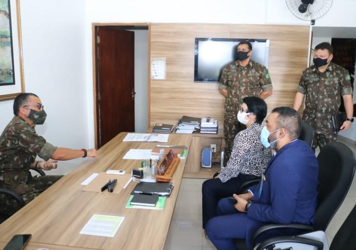 Setemp e 12ª Região Militar iniciam tratativas de parceria para capacitar egressos do serviço militar