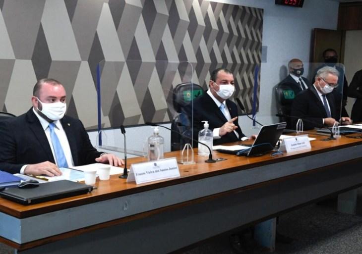 Deputado Fausto Jr. explica na CPI da Covid como ocorreram fraudes na Saúde do AM