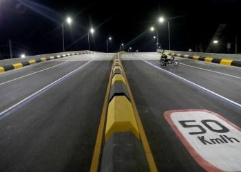 Viaduto do Manoa é liberado para tráfego de veículos em Manaus