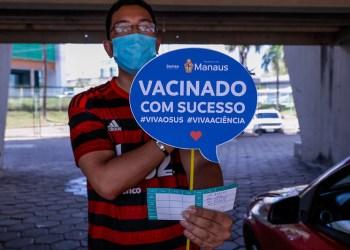 Intensificação da vacinação contra a Covid-19 em Manaus encerra com mais de 86 mil doses aplicadas