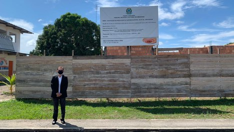 Presidente do TRE-AM visitou obras de Cartórios Eleitorais