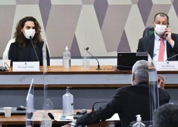 CPI da Pandemia: médica diz não saber motivo de saída de ministério