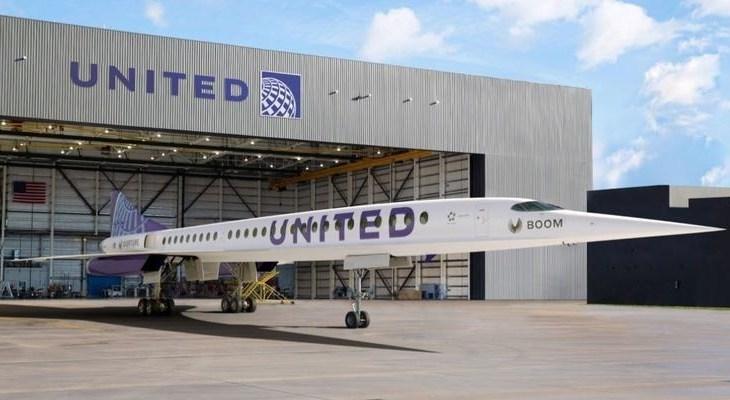 United compra aviões supersônicos que podem voar de SP a NY em menos de 6 horas