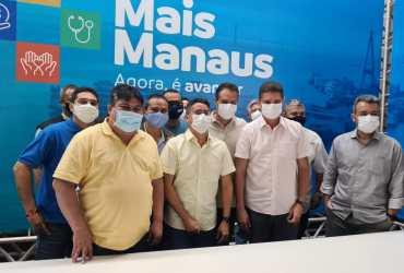 Daniel Vasconcelos destaca reforma e construção de UBS com o Programa Mais Manaus