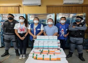 Parintins recebe 15 mil doses de vacina contra Covid-19 para o Dia D