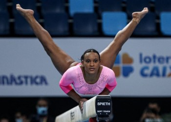 Brasil vai às finais da Copa do Mundo de ginástica artística, em Doha
