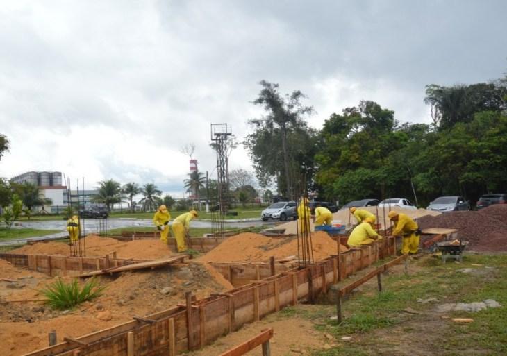 Detentos do CDPM 2 realizam serviços no Comando de Operações Especiais da Polícia Militar do Amazonas