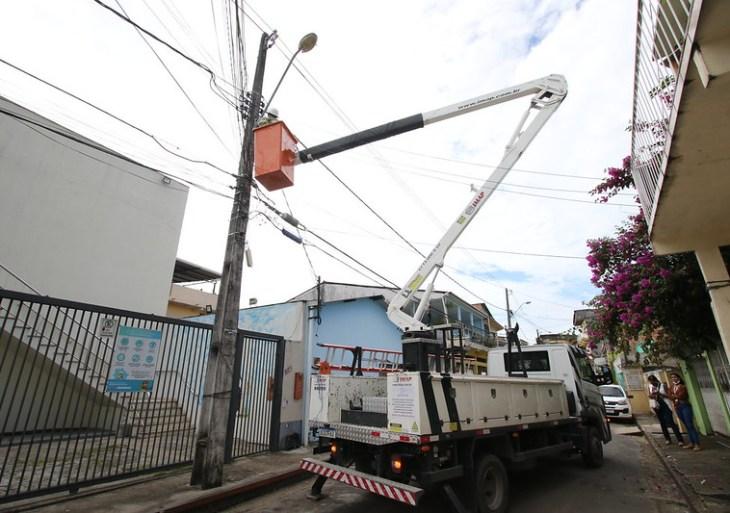 Prefeitura instala mais de 25 mil pontos de iluminação a LED por toda a cidade nos primeiros 180 dias de gestão