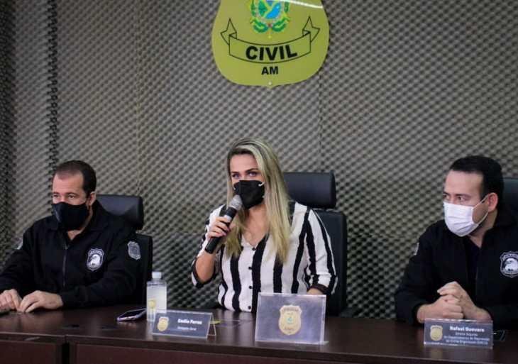 PC-AM prende integrantes de organização criminosa por roubo e receptação de combustível de balsas de transportes