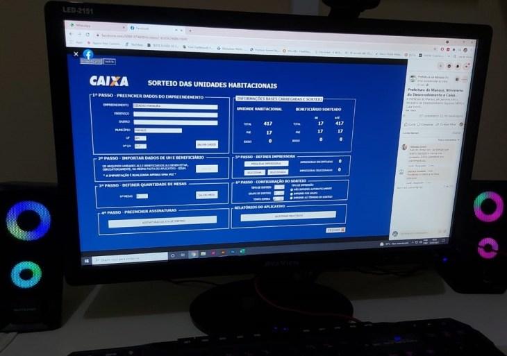 Sorteio da prefeitura e Caixa contempla 500 futuros mutuários do residencial Manauara 2