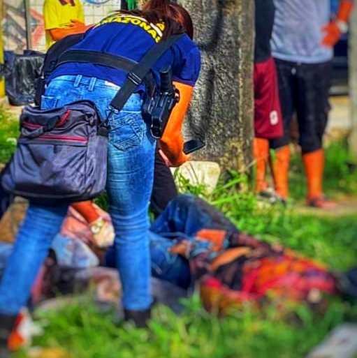 Jovem é achado decapitado em área vermelha de Manaus