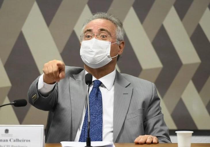 Renan Calheiros quer ex-cunhada de Bolsonaro na CPI