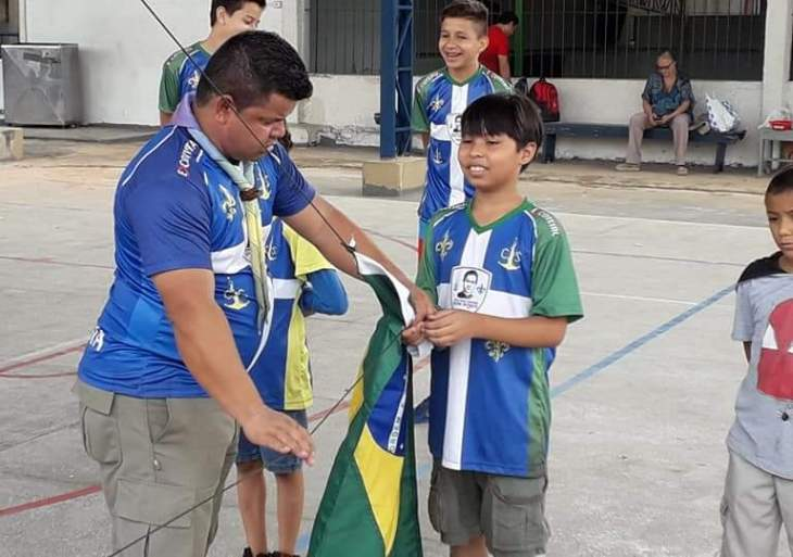 Escoteiros de Manaus retomam seus encontros no centro de Manaus