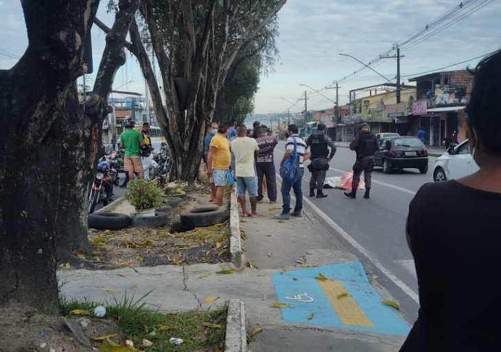Vitima Fatal: Funcionário de supermercado morre ao ser atingindo por mototaxi na Zona Leste