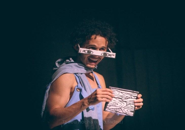 Estreia do espetáculo ´Se eu fosse um rato´ retoma parceria entre artistas de Manaus e Fortaleza