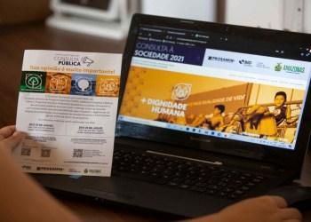 Governo do Estado lança site para consultas públicas do Prosamin+
