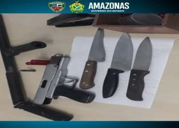 Polícia Militar detém três homens em posse de armas em operação Catraca na zona sul