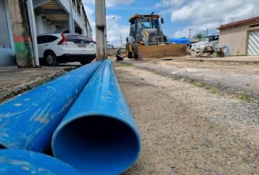 Moradores de bairros da Zona Norte recebem pacote de obras para melhoria no abastecimento de água tratada