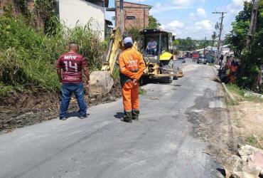 Prefeitura atende pedido de infraestrutura do vereador Peixoto no bairro Novo Aleixo