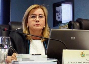Conselheira do TCE-AM Yara Lins, responde através de nota as intimidações do Senador Omar Aziz