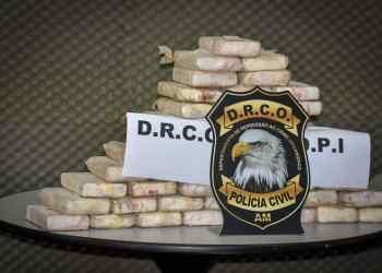 PC-AM deflagra ação e prende indivíduo com 170 quilos de cocaína, avaliados em R$ 3,5 milhões