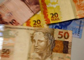 Moeda Nacional, Real, Dinheiro, notas de real. Foto: Marcello Casal Jr./ Agência Brasil